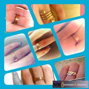 anelli in rame con magneti