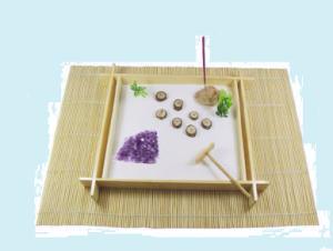 Giardino zen bambù