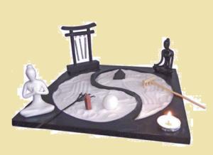 Giardino zen yin yang