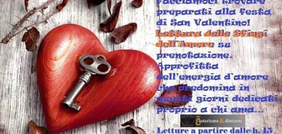 Lettura Sfingi dell'Amore – Sabato 13 febbraio